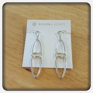 NWT Kendra Scott Gold Fallyn Linear Earrings